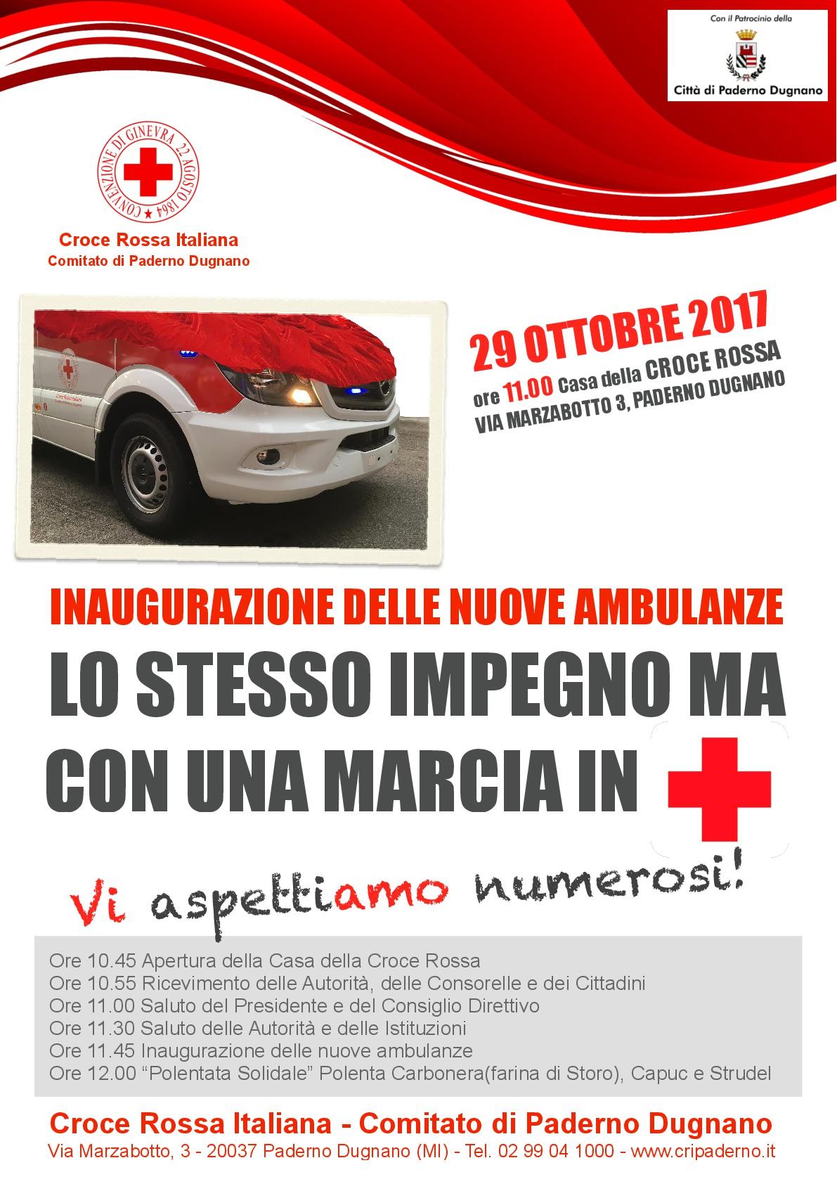 Inaugurazione delle nuove ambulanze