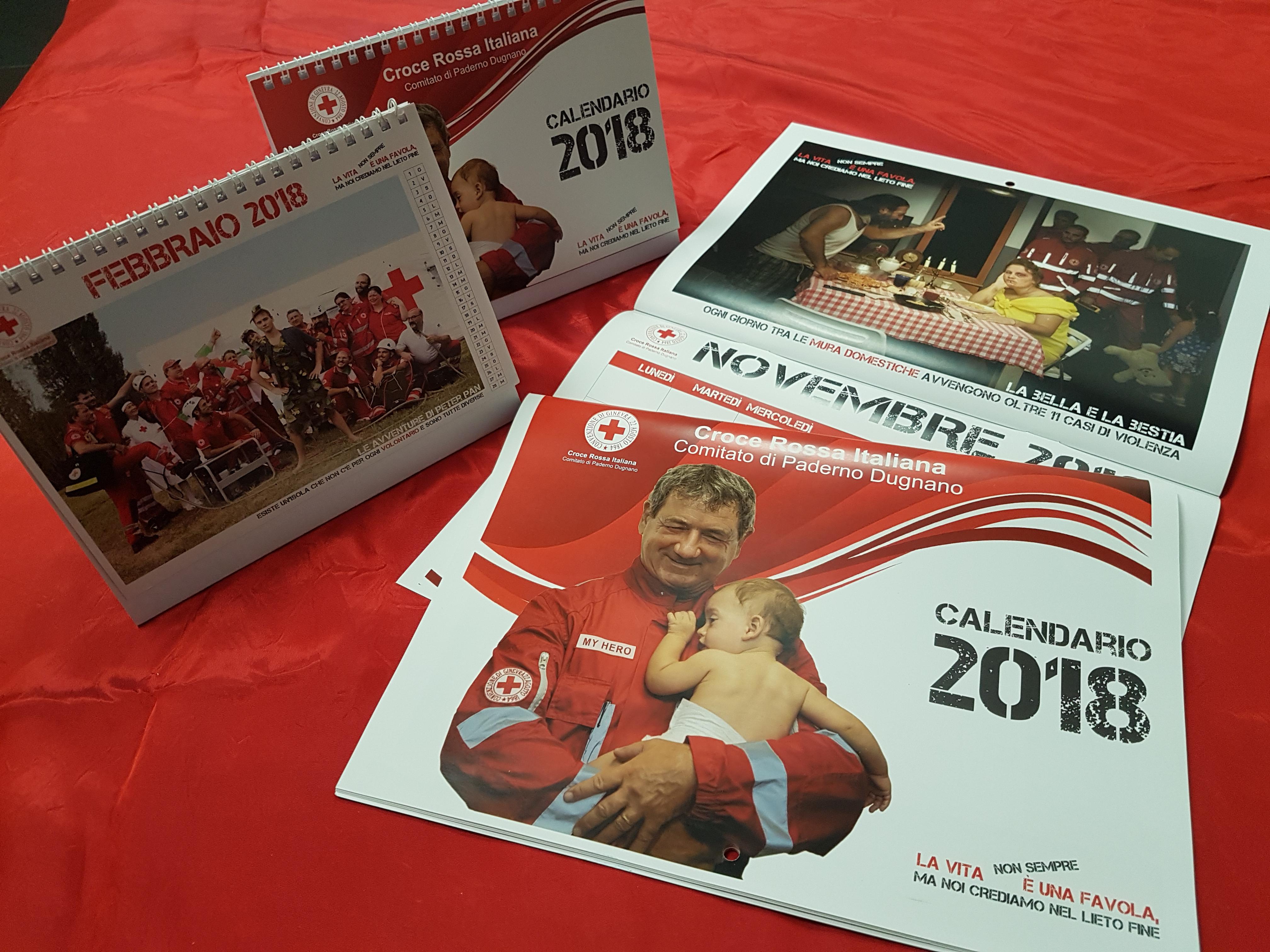 Calendario CRI Paderno Dugnano 2018