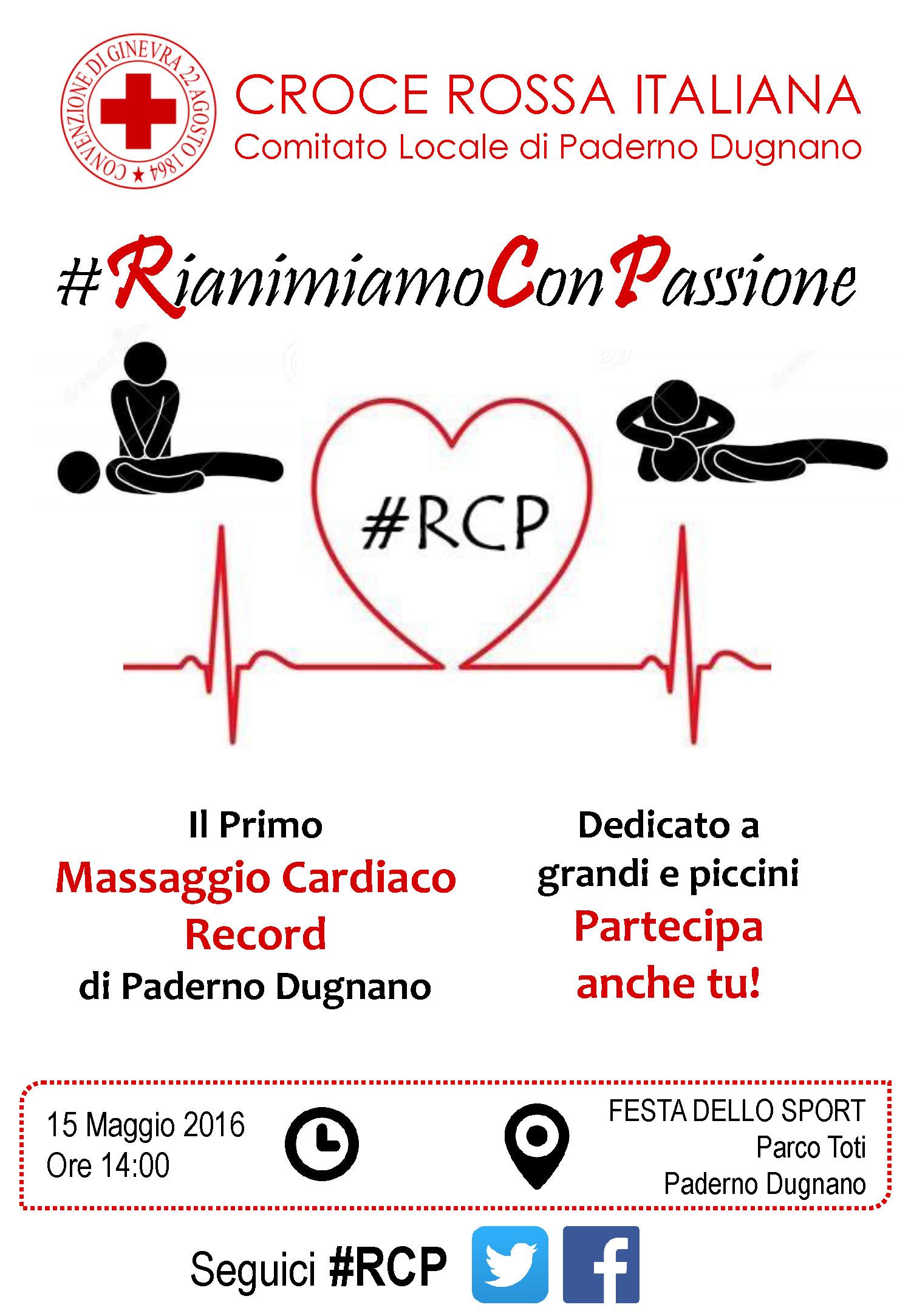 #RCP: Rianimiamo Con Passione - Volantino Fronte