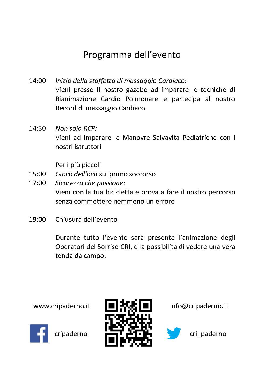 #RCP: Rianimiamo Con Passione - Volantino Retro