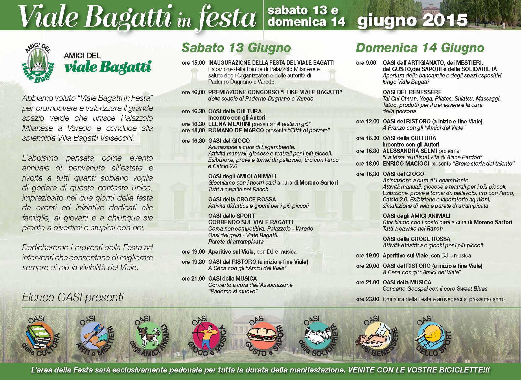 Villa Bagatti in Festa - Brochure 2